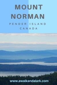 Pender Island Hiking - Mount Norman