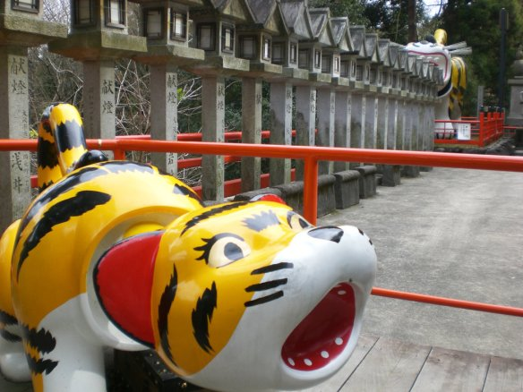 Shigisan & Chogosonshi-ji - Paper Tiger Temple - A walk and