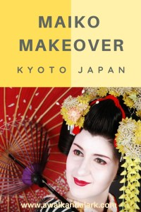 Maiko Makeover - Best experience in Kyoto, Japan