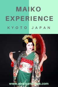 Maiko or Geisha Makeover - Best experience in Kyoto, Japan