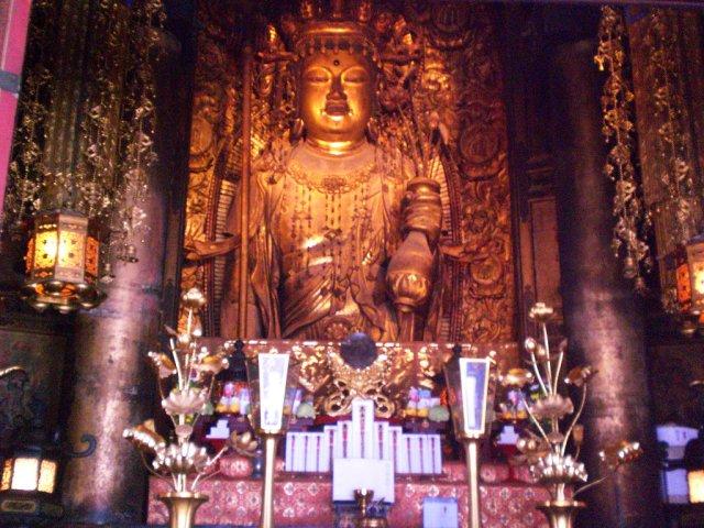 The Eleven-Faced Kannon statue