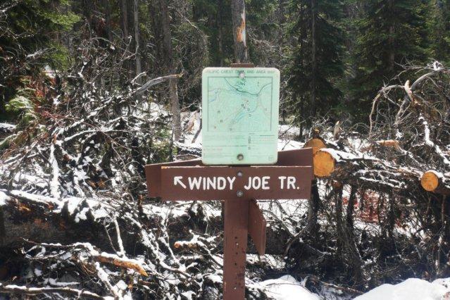 Follow the signs to Windy Joe