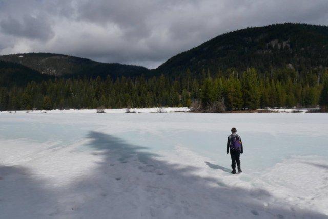 Trust Lisa on frozen lakes!
