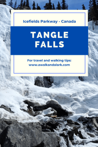 Tangle Falls - amazing stop on the Icefileds Parkway