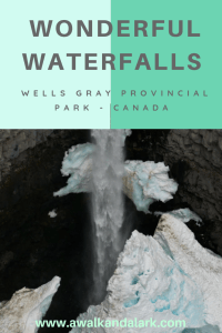 Waterfalls in Wells Gray Provincial Park - Amazing Waterfalls in the Canadian Rockies. Wells Gray Park is less famous than Jasper and Banff, but the waterfalls are epic.