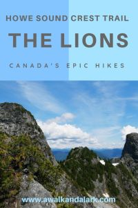 Up close to the Lions - Amazing hikes near Vancouver