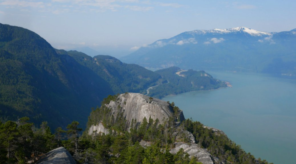 The squamish chief first peak looks so small