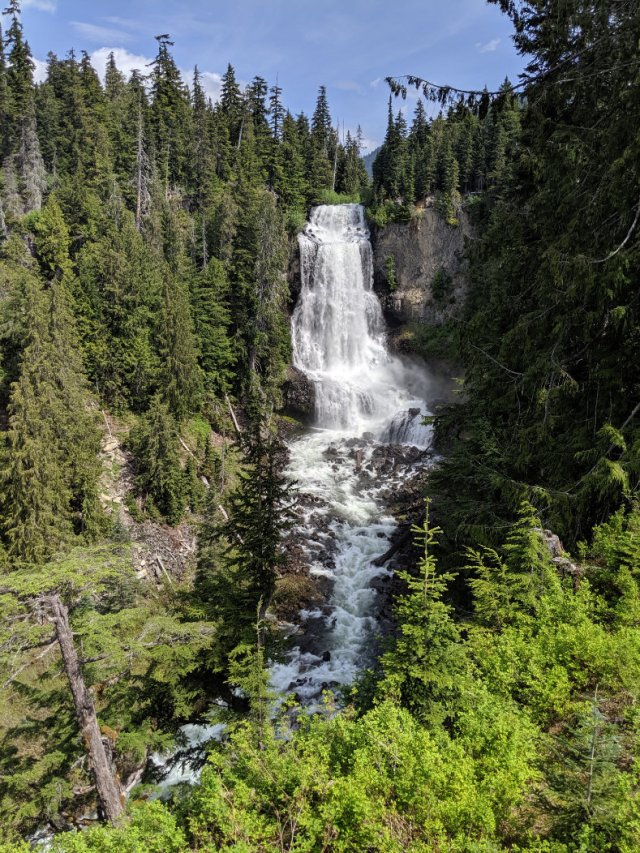 Alexander falls looking amazing
