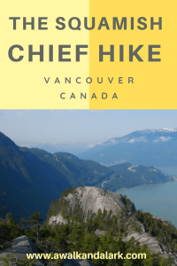 The Squamish Chief Hike - A great workout near Squamish
