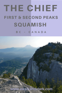 The Squamish Chief Hike - Hike to the first and second peaks