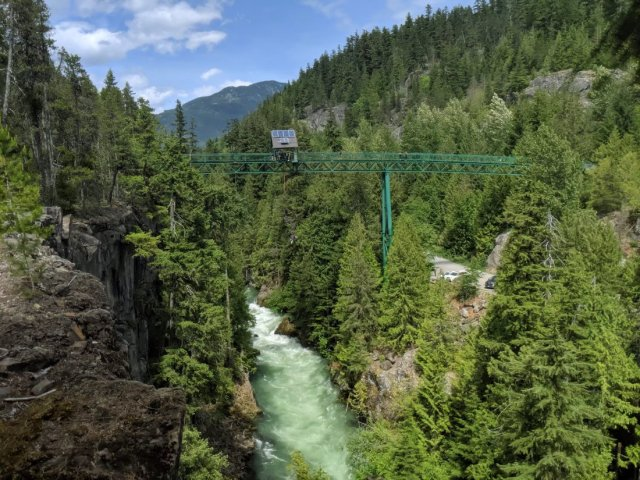 Detour to The Bungee Bridge above the Chekamus River