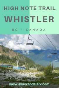 High Note Trail Whistler - such a fun trail at the top of the world