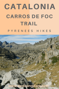 Aigüestortes National Park - Carros de Foc or Chariots of Fire trail
