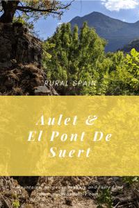 El Pont de Suert and Aulet in rural Spain