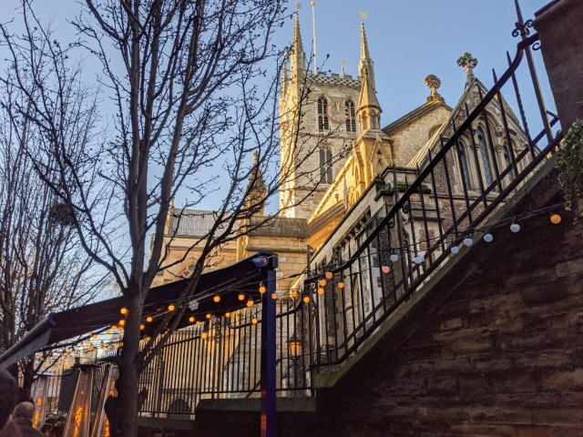 Southwark Cathedral from Borough