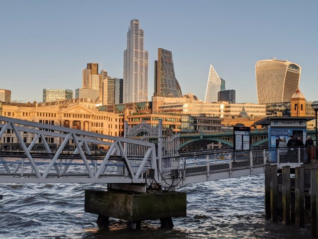 Views of the Thames and the City of London