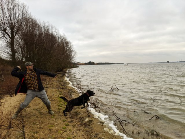 Grafham Water is great for dog walks