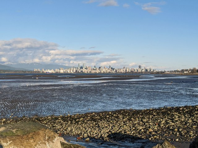 Spanish Banks - West point of the beach