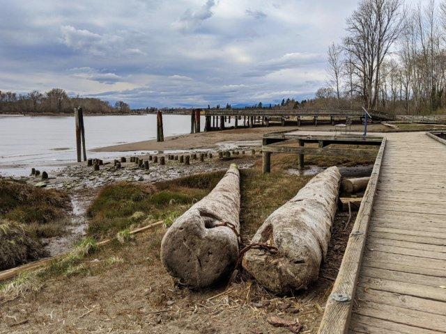 Fraser River Park boardwalk