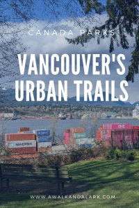 Vancouver's urban trails and parks