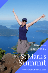 Bowen Lookout and St Mark's Summit - fun hikes near Vancouver