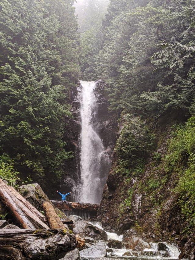 Norvan Falls up close