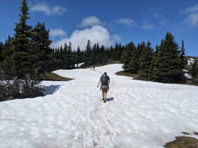 Far more snow