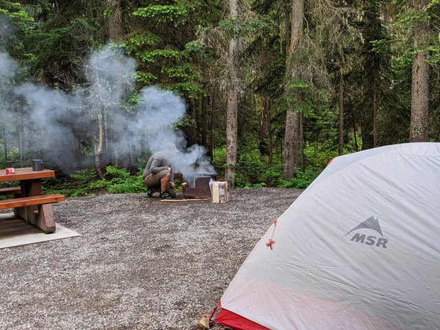 Camping in Manning Park