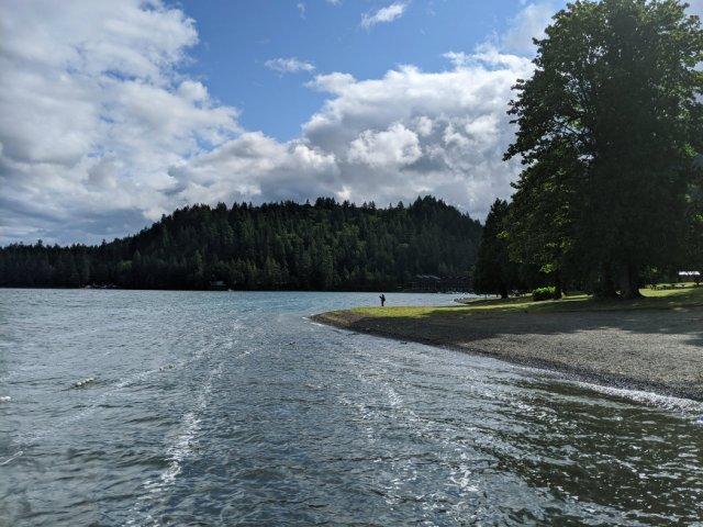 First views of Cultus Lake