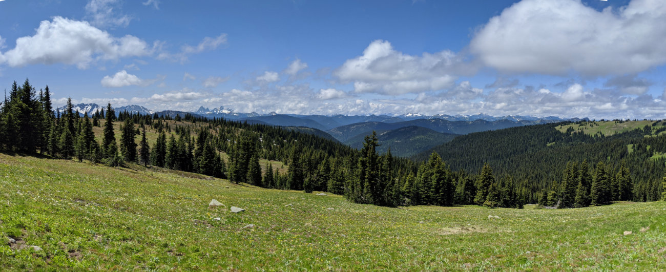 Panorama Three Brothers view