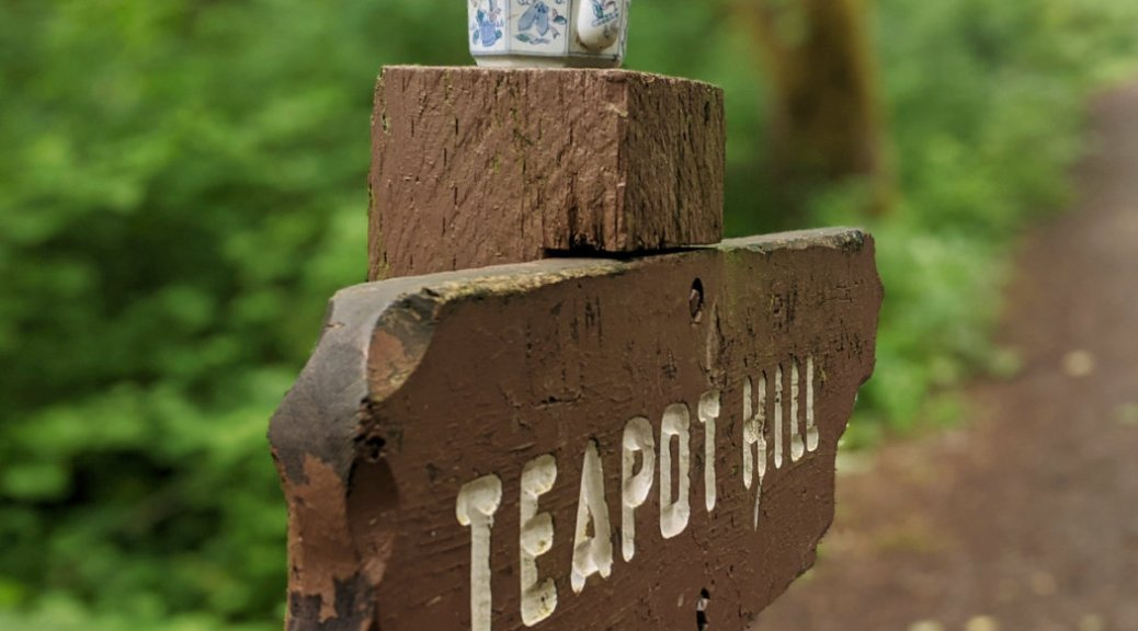 Teapot Hill sign