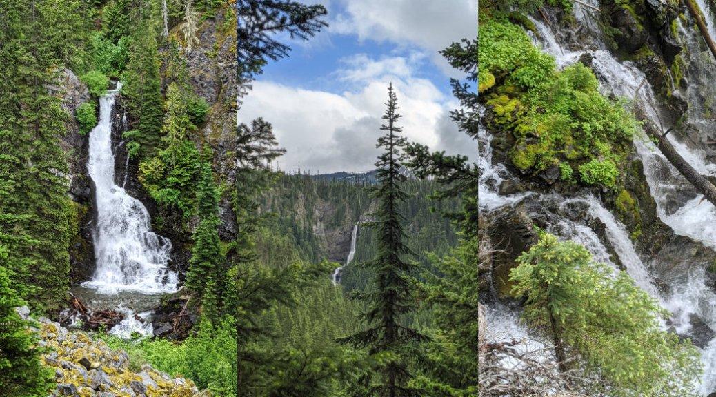 Three falls trail