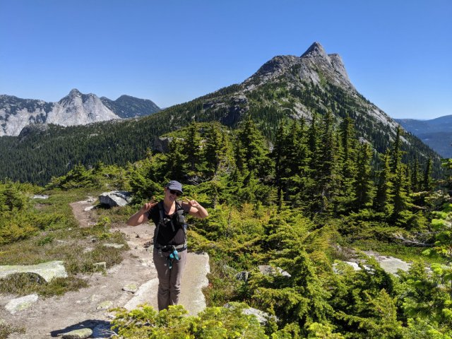 How good are these views - Needle Peak from near the Flatiron