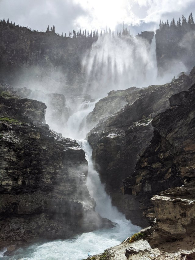 I loved Twin Falls with the shadows in the mist