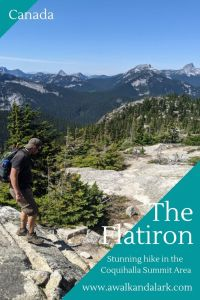 The Flatiron via Needle Peak - Fun hike on the Coquihalla Highway
