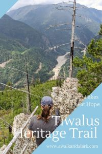 Tikwalus Heritage trail - Great for views of Black Canyon and the Fraser river, Canad