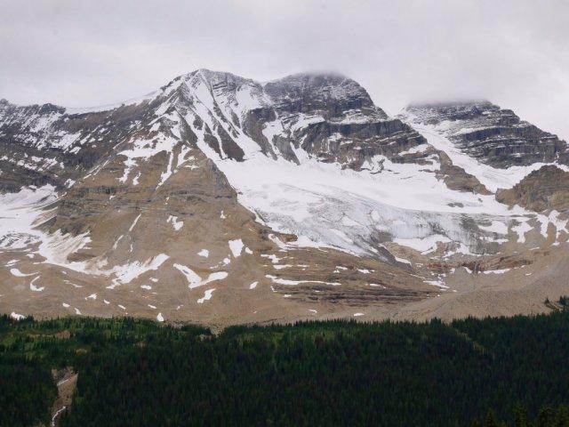 Glaciers from Whaleback trail