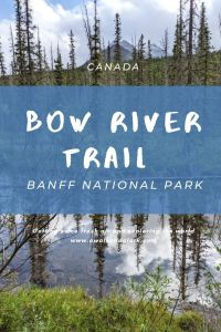 Bow River Trail - Easy hike near Lake Louise