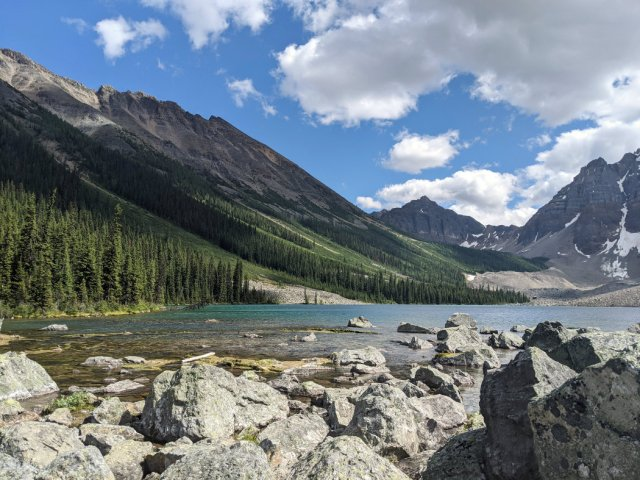 Consolation Lakes - lower lake