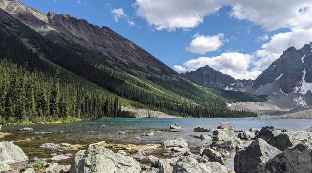 Consolation Lakes - lower lake