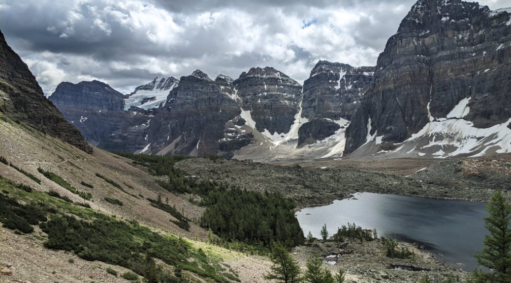 Valley of the Ten Peaks and Eiffel Lake - Mount Babel, Mount Fay, Mount Bowen, Tonsa Peak, Mount Perren and Mount Tuzo
