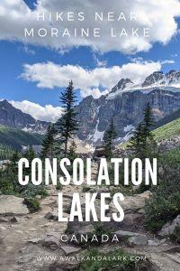 Consolation Lakes in Banff - Hikes near Moraine Lake - Banff, Canada