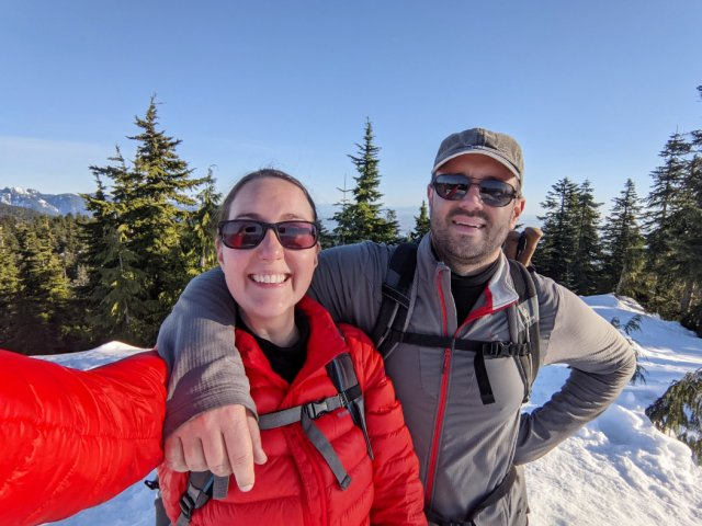 Black Mountain Snowshoeing - South Peak