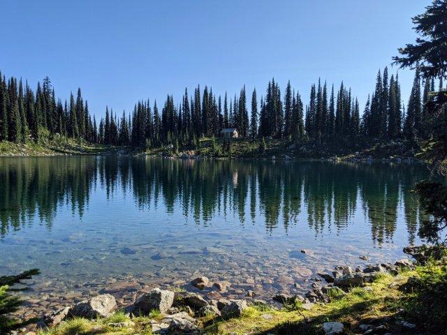 Eva Lake Cabin