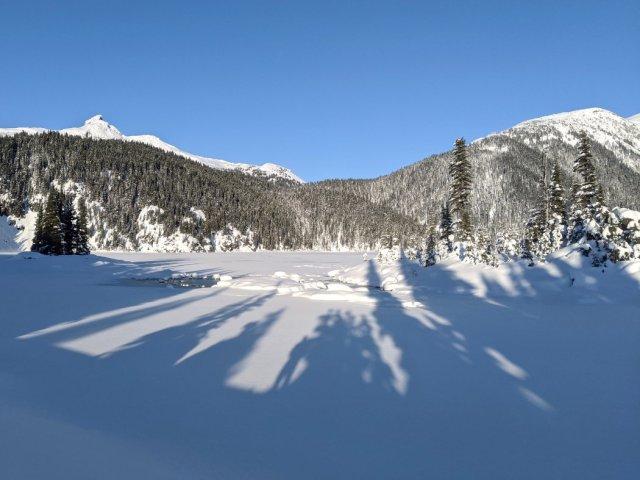 Black Tusk left and Panorama Ridge right