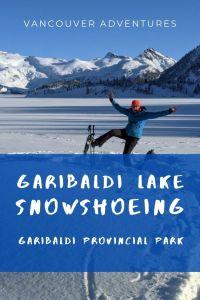 Winter walks - Garibaldi Lake in the snow