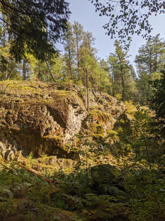 Steep Canyon walls