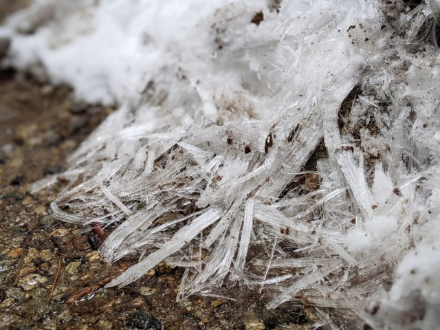 Cool ice crystals