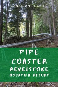 Pipe Coaster Hike on Revelstoke Mountain Resort, Canada