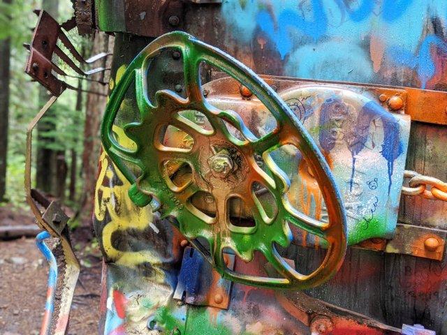Train wreck colours